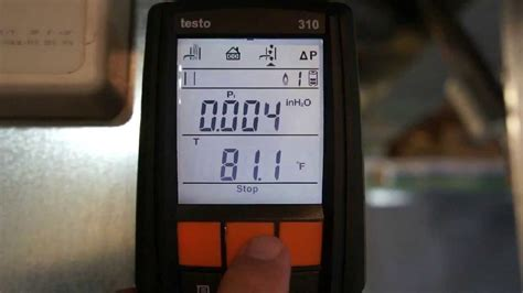 seven seconds testo testo 310 combustion analyzer demo