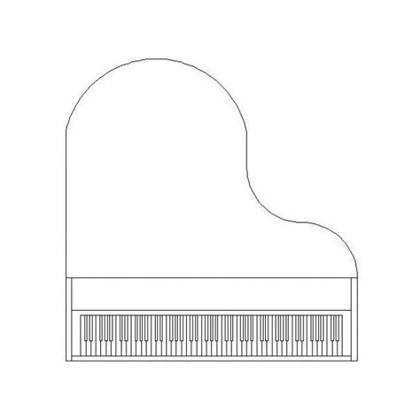 baby grand piano cad block cadblocksfree cad blocks free
