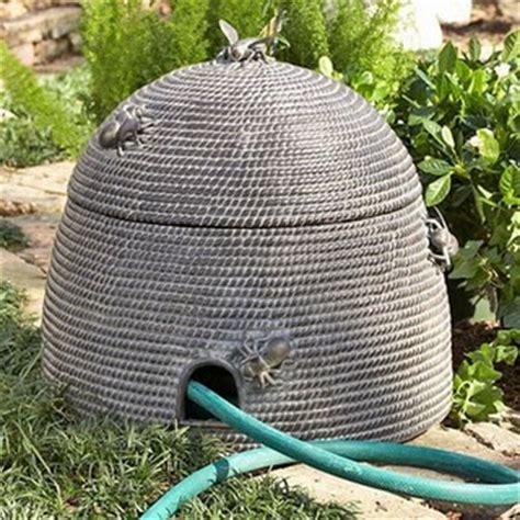 Garden Hose Hider Bee Skep To Hide Garden Hose Mrs Bee