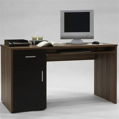Small Computer Desk Uk Ict Educational Services Buy Finn Black Compact Computer Desks From Furnitureinfashion