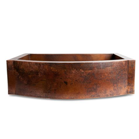 Purchase apron front copper sink online