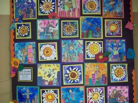 quilt pattern art lessons 63 best faith ringgold images on pinterest faith