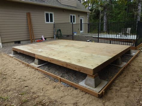 Roof Deck Plan Foundation how long can pressure treated plywood be left wet home