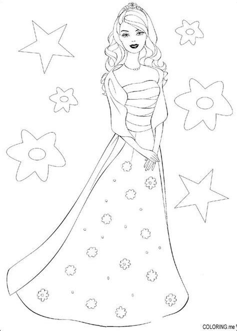 barbie dress coloring pages coloring page barbie dress coloring me