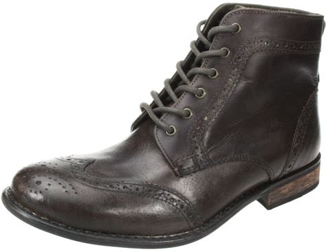 quality mens boots mens nant black brown lace up leather brogue