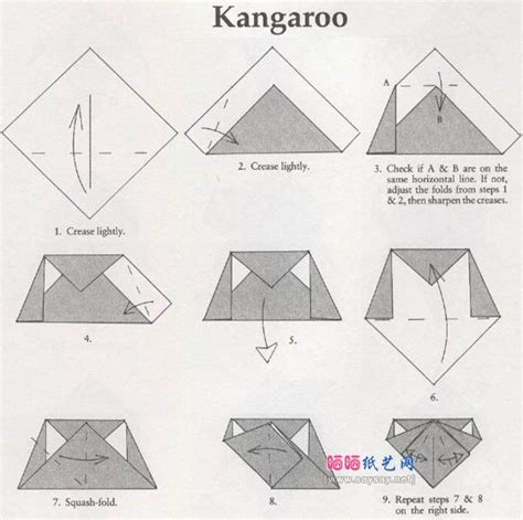 How To Make An Origami Kangaroo - 675 best origami images on papercraft origami