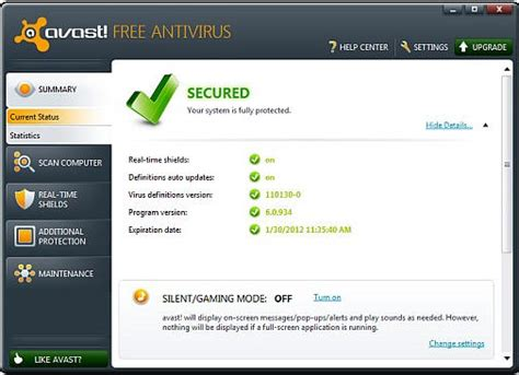 free anti virus tools freeware downloads and reviews from download avast antivirus 6 0 edition techblissonline com