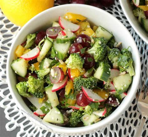 vegetables or salad vegetable salad for breakfast