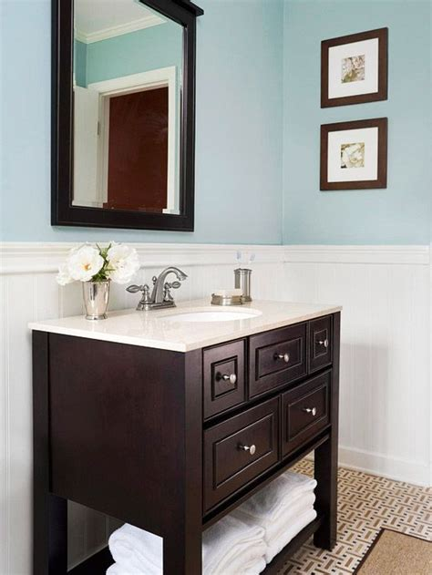 Vinyl Wainscoting Bathroom Our Favorite Small Baths That Live Large