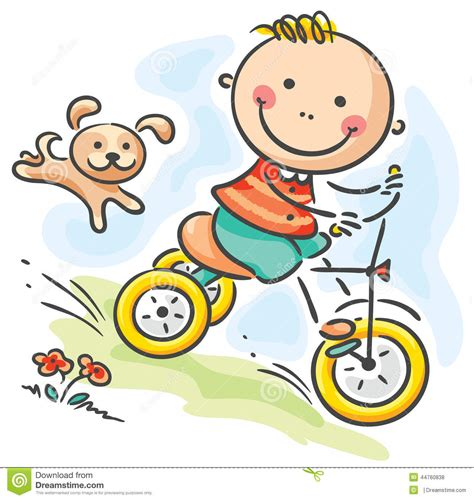 tricycle cartoon tricycle cartoons illustrations vector stock images