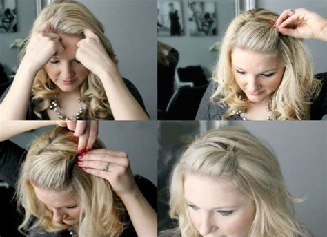 easy hairstyles using bobby pins 44 best growing out a fringe images on pinterest make up