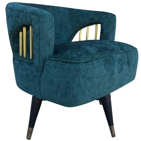 mid century modern swivel chair mid century modern emerald green velvet and brass swivel chair at 1stdibs