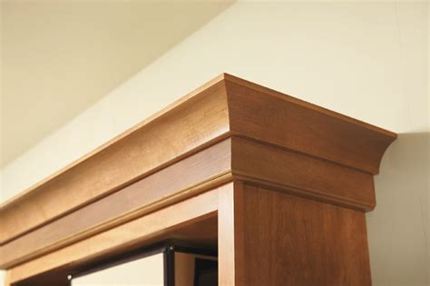 Kitchen Cabinets Crown Moulding Aristokraft Crown Moulding Contemporary Other Metro By Masterbrand Cabinets Inc