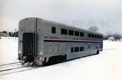 Superliner Sleeper by Transition Sleeper No 39005 In The Snow 1990s Amtrak