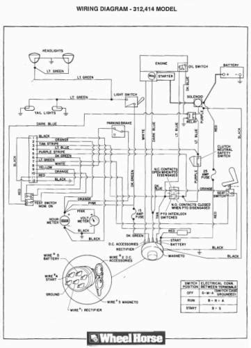 Tractor 1989 300-Series 8-Speed OM Wiring.pdf - 1985-1990