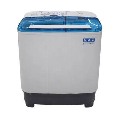 Mesin Cuci Midea 1 Tabung jual kamis ganteng midea mtd85 p701q mesin cuci 2 tabung 7kg harga kualitas