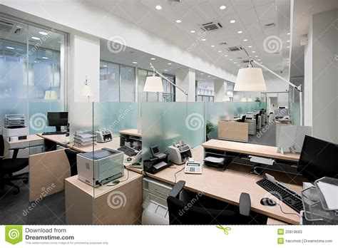 Nice Floor Plans bank office stock photos image 20818683