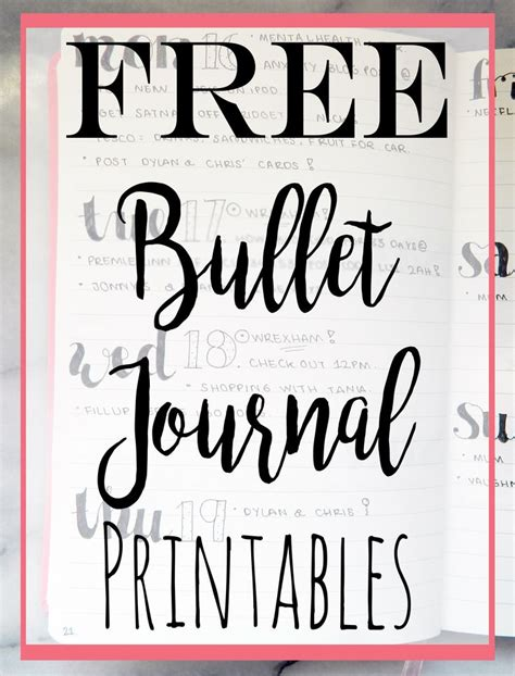 free printable fonts for ipad 1604 best bullet planner journaling images on pinterest