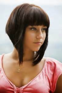 pictures ofhairstyle that are short on top and longer on the bottom best short haircuts for women with bangs schoonheid mode