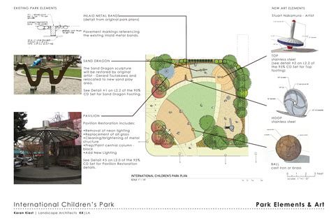 design concept report park design report friends of the international children