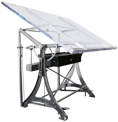 Glass Drafting Table In My Home Pinterest Glass Drafting Table