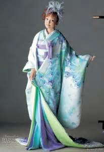 Colorful wedding kimono from scena d uno 2010 wedding inspirasi