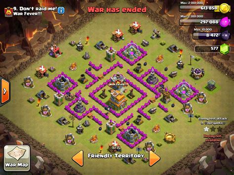 layout coc war base anti naga 6 war base th 7 terkuat dan terbaik anti naga dragon