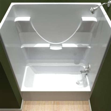 one piece bathtub shower centennial tubs showers
