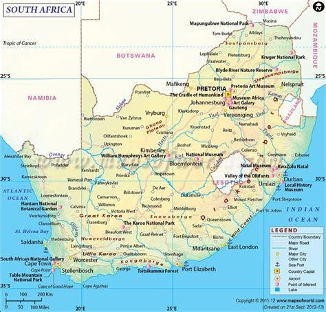 68 africa map 106 best country maps images on world