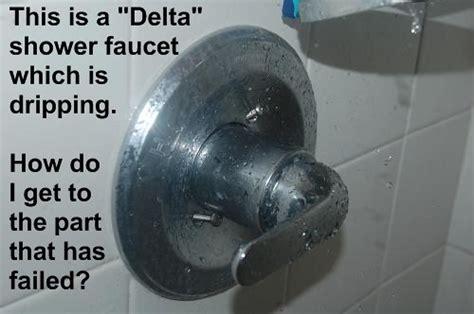 delta shower faucet drip repair flickr
