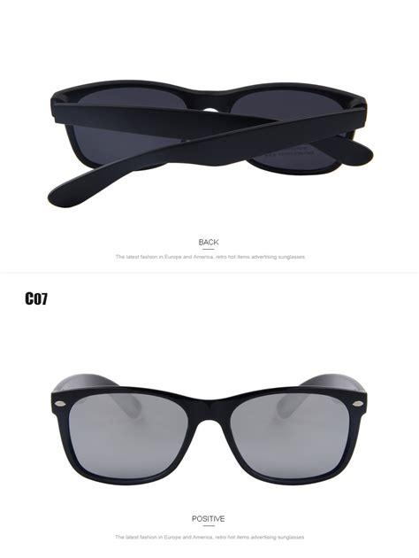 Classic Retro Glasses Black Intl top brand designed polarized sunglass classical retro