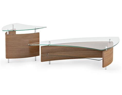 contemporary furniture coffee and end tables bdi fin coffee end tables sarasota modern