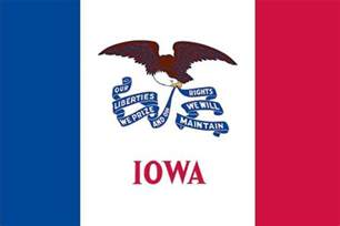 of iowa colors iowa state flag 3 ft x 5 ft banners and flags