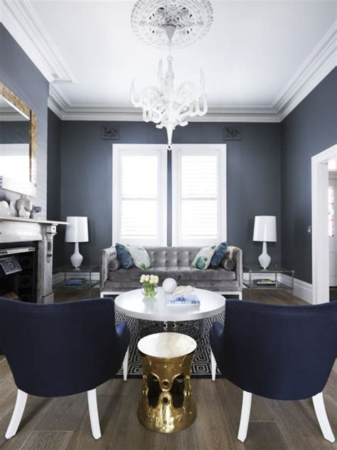 blue and gray living room amazing elegant apartment interior design dark blue living room designs simple but elegant