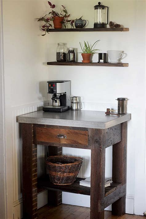 coffee station ideas   caffeine addicts happy