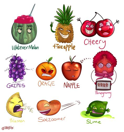 fruit puns fruit puns by flame13 on deviantart