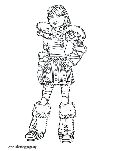 httyd 2 astrid coloring pages coloring pages