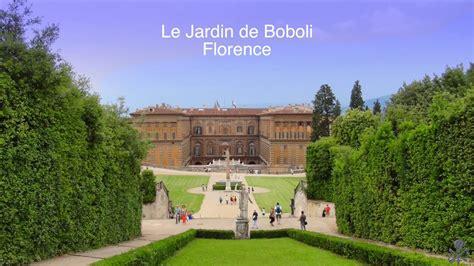 le jardin de boboli florence italie