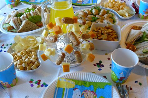 party food birthday party food