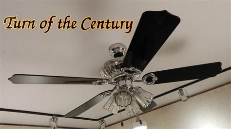 turn of the century ceiling fan quot sears emerson turn of the century ceiling fan youtube