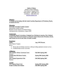 Criminal Justice Cover Letter by Objective Resume Criminal Justice Http Www Resumecareer Info Objective Resume Criminal