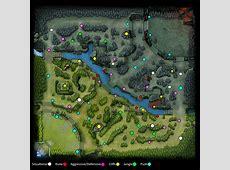 Updated warding map on current minimap : DotA2 Dota 2 Minimap