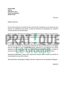 Lettre De Motivation De Technicien Lettre De Motivation Pour Un Emploi De Technicien De Maintenance Confirm 233 Pratique Fr