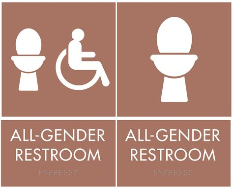 gender bathroom signs all gender restrooms are added to city buildings