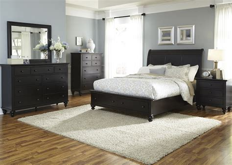 carriage court king sleigh bed from liberty 709 br ksl