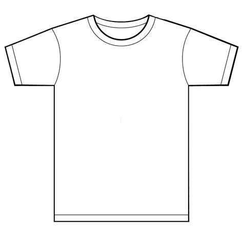 shirt template t shirt template clipart best
