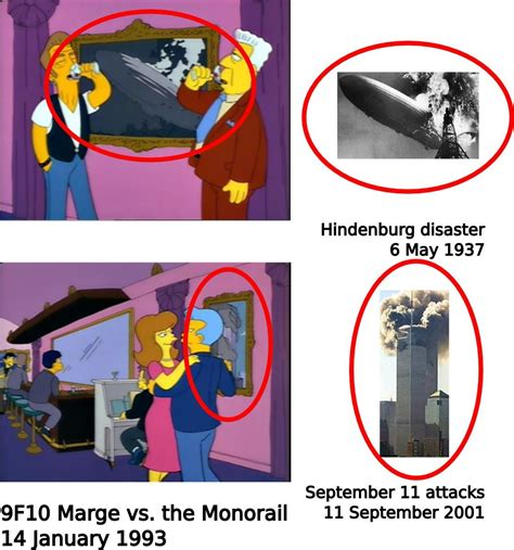 the simpsons 911 predict the 9 11 predictions nicole parker