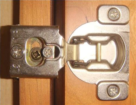 How To Adjust Cabinet Door Hinges Ehow Adjust Cabinet Doors