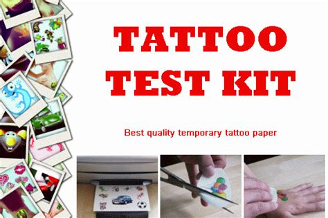 tattoo papier voor printer tattoo test kit inkjet printer