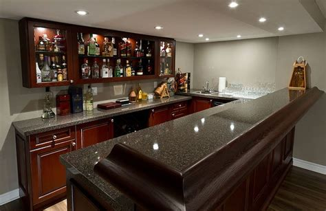 finished basement bars pubs wine cellars basement